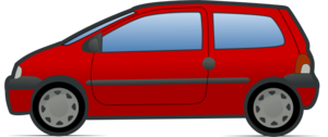 red and green renault twingo 2