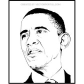 OBAMA SKETCH VECTOR.eps