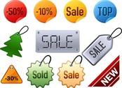 Attractive Discounts Listed On Labels