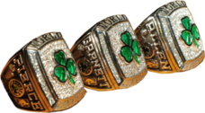 Boston Celtics Big 3 Rings PSD