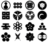 Japan Design Elements Free Vector Set
