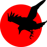 Raven on Red