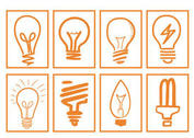 Hand Drawn Light Bulb Vectors