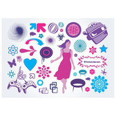 VECTOR CLIP ART ILLUSTRATION SET.eps