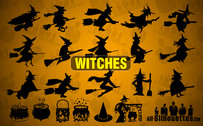 15 Vector Witches