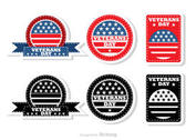 Veteran's Day Badges