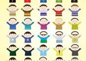 Kids Cartoon Vectors