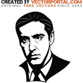 ACTOR AL PACINO VECTOR.eps