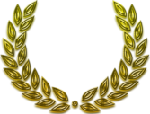 laurel wreath PSD