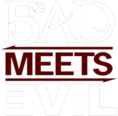 Bad Meets Evil Logo PSD