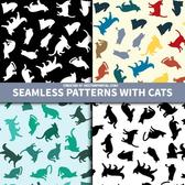 SEAMLESS PATTERN WITH CATS.ai