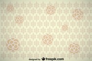 Vintage Flower Background Design