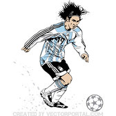 LIONEL MESSI VECTOR IMAGE.eps