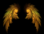 Gold Wings PSD