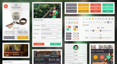 Free Online Store UI Kit in layered PSD by Ramotion - Submitted by Ramotion