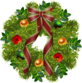 Christmas Wreath PSD