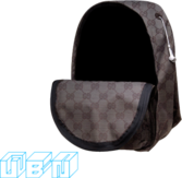 gucci backpack PSD