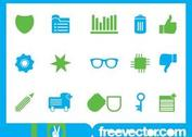 Icons Set Vector Art