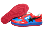 Red and Blue Shoes PSD