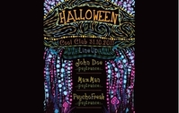 Psychedelic Halloween Party Flyer