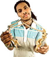 Waka Flocka Flame Polo Shirt PSD
