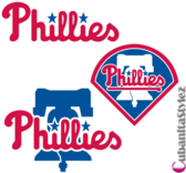 Philadelphia Phillies Logos PSD
