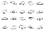 Extremeclipart series vector material - classic cars
