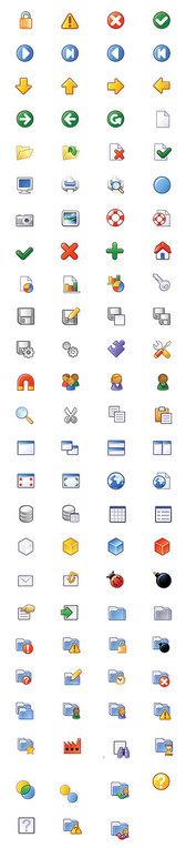 IconBase Plastic XP Business Icons