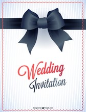 Wedding printable card invitation