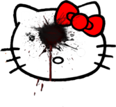 hello kitty haters PSD