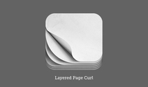 iOS Pagecurl Icon