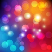 Colorful Bokeh Light Abstract Background