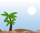 Palm Tree paysage