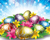 Free Stock Easter Eggs Backgrounds