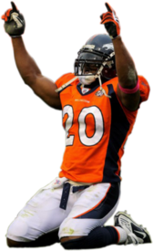 Brian Dawkins in Broncos Uniform PSD