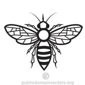 BEE VECTOR DRAWING.eps