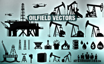 25 Vector oilfield clipart