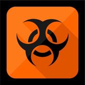 BIOHAZARD ICON VECTOR.eps