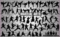 58 Vector martial arts