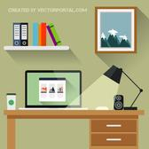 OFFICE CONCEPT VECTOR GRAPHICS.eps