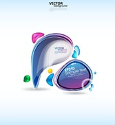 Symphony Of The Dialogue Bubbles Vector Fashion
