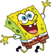 Spongebob In Air PSD