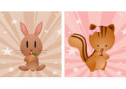 Free Cute Cartoon Animal Vectors