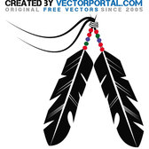 INDIAN FEATHER STOCK VECTOR.eps