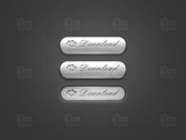 3D Metal Download Buttons