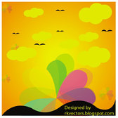 EVENING VECTOR BACKGROUND.eps