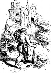 Giant Going To Castle