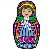 MATRYOSHKA DOLL VECTOR ART.eps