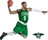 Derrick Rose Boston Celtics PSD