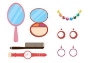 Makeup and Accessories Vector Pack